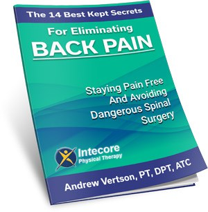 Common Runner's Injuries - free report cover back pain